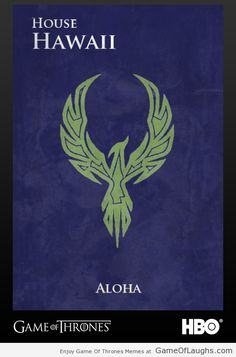 A Game Of Thrones fan created sigils for all the 50 states! Its simply amazing