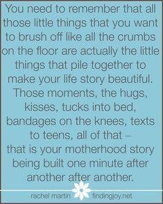 This is motherhood. @Rachel
