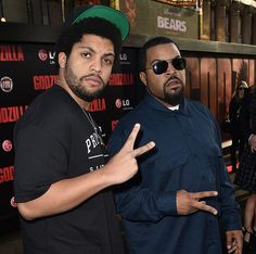 """O'Shea Jackson Jr.Acting skills aside, this 24 year old looks so much like dad Ice Cube that he was the only logical choice to portray the legendary rapper in this summer's N.W.A. biopic Straight Outta Compton. And in a strong case for the """"like father, like son"""" argument, he also raps."""