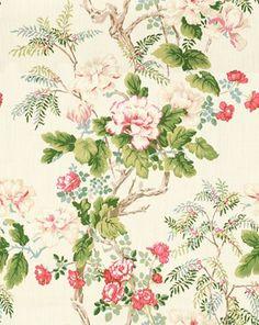Fabric: 2009164.731 Chinese Peony Rose by Lee Jofa