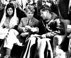 Cesar Chavez & Robert Kennedy Chavez peacefully protested by fasting.