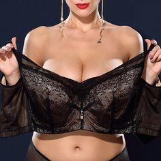 e02d972c8d473 J Cup Plus Size Lace Push Up Busty Unlined Minimizer Bras Sports Bra  Outfit