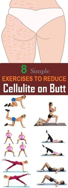 8 The most effective exercises to reduce cellulite on the buttocks Yoga & Fitn. - 8 The most effective exercises to reduce cellulite on the buttocks Yoga & Fitness - Yoga Fitness, Fitness Workouts, Fitness Motivation, Easy Workouts, Health Fitness, Workout Routines, Butt Workouts, Health Diet, Sport Motivation