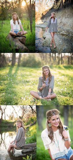 senior, senior girl, senior pictures, senior year, photo jewels, rockwall senior photographer, senior girl water, creek