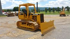 1989 John Deere 650G Bull Dozer Crawler Tractor Diesel Engine 6 Way Blade OROPS
