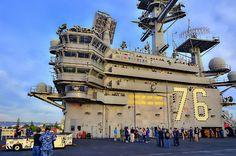 USS Ronald Reagan (CVN 76)...my son did his deployment on this ship!