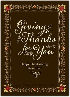 Thankful Elegance - Happy Thanksgiving Greeting Cards from Treat.com