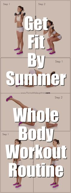 Get your body ready for the beach with this easy home workout routine.  #homeworkout #fitness #fittips #summerbody #toned #gettinggit #workout #workoutroutine #befit #sexybody #getskinny #skinny #loseweight #weightlosstips