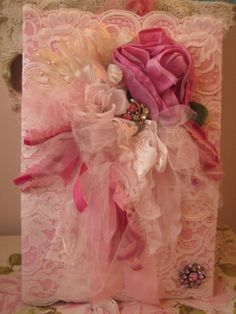 Pink Embellished Photo Album