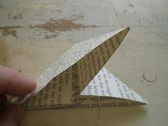 Hello my dear friends, I am sure there are many tutorials out there on how to make an origami butterfly but I thought I would put a short tu...