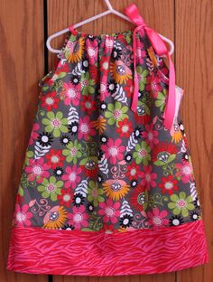 size 6 Frock for All Seasons Pillowcase Dress