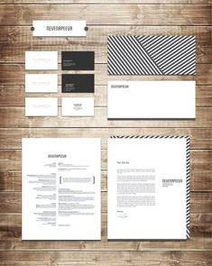 Personal Branding by Nevena Peeva. | #stationary #corporate #design