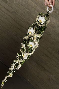 Valentijn Sneek beautiful hanging bouquet. Just lovely.