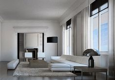 Elegance and sophisticated simplicity : Manor Home, Barcelona _ by YLAB Architects _