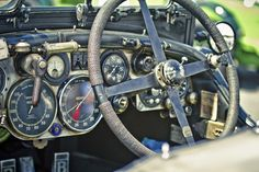 pinterest.com/fra411 #classic #car Car Interior Design, Le Mans, Old Race Cars, Bugatti, Hot Rod Trucks, Vintage Racing, Vintage Cars, Collector Cars, Sport Cars