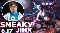 C9 Sneaky Jinx Stream | Jinx vs Jhin | ADC | Patch 6.17 Full Gameplays S...