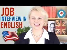 Job Interview in English Entrevista de Trabajo en inglés
