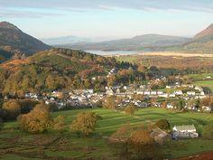 Braithwaite and Bassenthwaite Lake, Near Keswick, Lake District