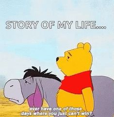 The perfect BadDay Eeyore Pooh Animated GIF for your conversation. Discover and Share the best GIFs on Tenor. Bad Day Quotes, Cute Quotes, Funny Quotes, Funny Positive Quotes, Inspirational Quotes, Black Siamese Cat, Bad Day Humor, Love Is Cartoon