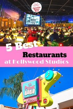 The 5 best restaurants at Disney's Hollywood Studios - both quick service and table service locations. Dining info, menus, photos and Disney Dining Plan info. Include one or two of these in your must-do plan for the best vacation ever in 2020 and 2021.