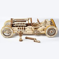 The UGEARS Grand Prix Car is a unique gift for model and racing enthusiasts. Come to the Apollo Box marketplace for eco-friendly models for everyone to enjoy. Laser Cut Plywood, Apollo Box, The Ultimate Gift, Wooden Puzzles, Gift List, Fairy Lights, Grand Prix, Race Cars, Shopping