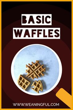 Sometimes, less is more so this waffle recipe uses less ingredients but on the other hand it's easy to fill it with anything you want, from veggies, meat, cheese or fruit. Baby, toddler and kid friendly, these will satisfy even the picky eaters. Easy Snacks For Kids, Healthy Meals For Kids, Dinners For Kids, Meals For One, Easy Healthy Recipes, Baby Meals, Kid Meals, Waffle Recipes, Baby Food Recipes