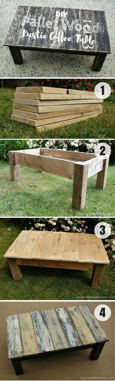 Mesa de manera fácil de hacer