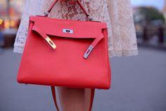 hermes birkin bag white - hermes red kelly
