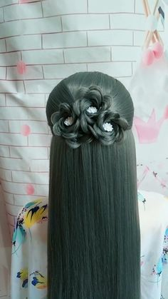 Cute Hairstyles For Teens, Cute Simple Hairstyles, Easy Hairstyles For Long Hair, Scarf Hairstyles, Pretty Hairstyles, Braided Hairstyles, Hair Scarf Styles, Short Hair Styles, Hair Upstyles