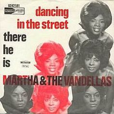 European record sleeve for 1964's 'Dancing in the Street' single. First record I own.