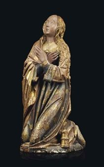 Artwork by Spanish School, Century, Figure of Mary Magdalene, Made of parcel-gilt polychrome wood Gospel Of Mary, Renaissance Image, Statues, Mary Magdalene, Sacred Feminine, Madonna And Child, John The Baptist, Portraits, Christian Art