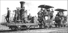 old steam engines | ... : Old Photos of Tom Thumb - The First American-Built Steam Locomotive