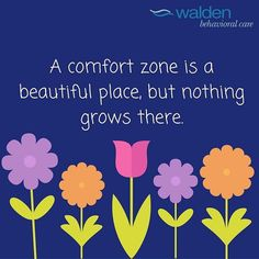 Growth occurs outside of our comfort zone #Repost @waldenbehavioralcar e  #eatingdisorders #eatingdisordertreatment #eatingdisordersawareness #edawareness #eatingdisorderrecovery #beated #EDRecovery #mentalhealth #growth