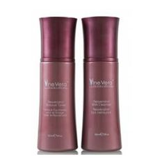 """In the article titled, """"Vine Vera Skincare Giveaway"""" ten lucky winners will have the chance to win a Vine Vera Resveratrol Merlot Moisture Day Cream and a Vine Vera Cleansing Kit containing one Resveratrol Milk Cleanser and one Resveratrol Balance Toner."""