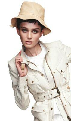 Our foldable leather floppy bucket hat feat in Marie Claire magazine styling by Jana Pokorny shot by Nicole Bentley www.hatmaker.com.au or www.facebook.com/... #hatmaker #leatherhat #safari #safarifashion #fashioneditorial #fashion #hat #hatter #white #cream #mustard #marieclaire #editorial #highendfashion #janathanhoward