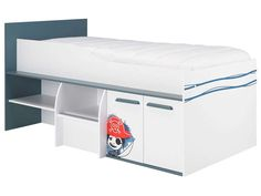 Lit Enfant Conforama promo lit pas cher, achat Lit compact 90x200 cm JACK prix promo Conforama 399.90 € TTC