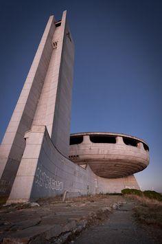 Buzludzha Monument – Abandoned Relic of Bulgaria's Communist Past ~ Kuriositas