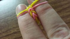 Rubber band bracelets-no loom needed! | LDS Craft Project