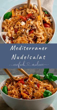 """Mediterraner Nudelsalat - DAS Titelrezept aus """"Nudelsalate für jeden Tag"""""""