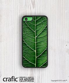 Spring Leaf iPhone 5C Case by CRAFIC on Etsy, $22.00
