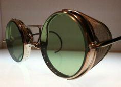 from: bureauoftrade Funky Glasses, Cool Glasses, Glasses Frames, Stylish Sunglasses, Mens Sunglasses, Steampunk Sunglasses, Matsuda Sunglasses, Vision Glasses, Fashion Eye Glasses