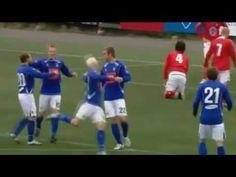 Игроки исландского «Стьарнана» усугубили празднование каждого гола до уровня гениально поставленных пантомим.