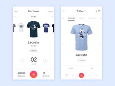 Time for some new UX & UI inspiration from modern web and mobile projects. A mix of beautiful UX patterns, meticulously created components and well balanced layouts that hopefully will inspire you… Mobile Ui Design, App Ui Design, User Interface Design, Card Ui, Clothing Store Design, Mobile App Ui, Le Site, Screen Design, Website Design Inspiration