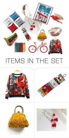 """""""A Happy Winter Morning"""" by rosa-shawls ❤ liked on Polyvore featuring art, etsy and supportsmallshops"""
