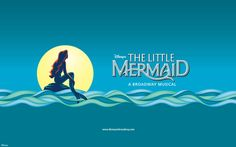 Logo for Disney's The Little Mermaid - A Broadway Musical