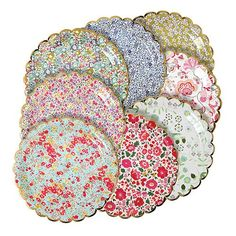 Liberty Floral Assorted Large Plates