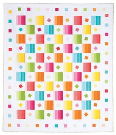 Additional Images of Sprinkles Quilt Kit by Mari Martin - ConnectingThreads.com