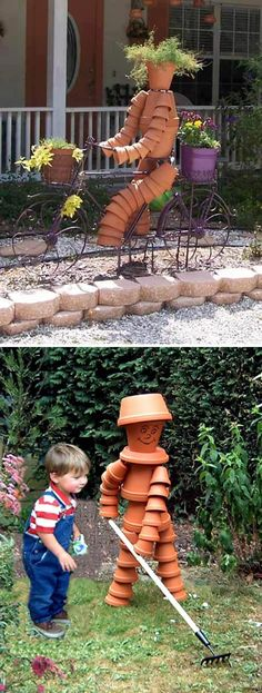 If you want to be a successful gardener then you should take care of your garden decoration, you should be able to show what your garden have in an elegant way, while you add your personal touch to your garden decoration. One of the most used items in gardens are clay pots. They could also be used in the decoration process even if they were broken. Water fountain, bird feeder, stools and many other useful and beautiful things could be made out of clay pots. Here are 8 amazing ideas of using…