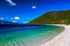 Antisamos Beach Kefalonia - Beach of 'Antisamos' at Kefalonia island in Greece
