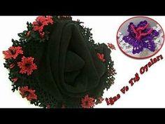 Namaz Örtüsü Çiçekli Oya - Çeyizlik Tığ Oyaları - YouTube